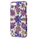 Stylized Floral Ornate Pattern Apple iPhone 5 Hardshell Case with Stand View3