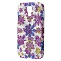 Stylized Floral Ornate Pattern Samsung Galaxy S4 I9500/I9505 Hardshell Case View3