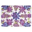 Stylized Floral Ornate Pattern Samsung Galaxy Tab 10.1  P7500 Flip Case View1