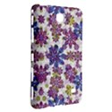 Stylized Floral Ornate Pattern Samsung Galaxy Tab 4 (8 ) Hardshell Case  View3