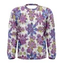Stylized Floral Ornate Men s Long Sleeve Tee View1