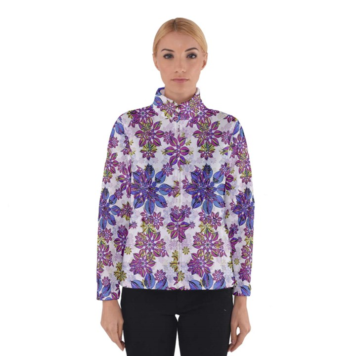 Stylized Floral Ornate Winterwear