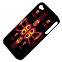 Alphabet Shirt R N R Apple iPhone 4/4S Hardshell Case (PC+Silicone) View4