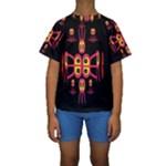 Alphabet Shirt R N R Kids  Short Sleeve Swimwear