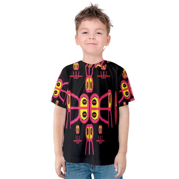 Alphabet Shirt R N R Kids  Cotton Tee