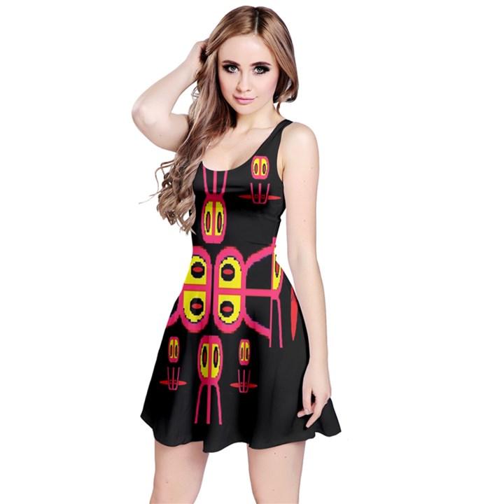 Alphabet Shirt R N R Reversible Sleeveless Dress