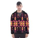 Alphabet Shirt R N R Hooded Wind Breaker (Men)