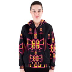 Alphabet Shirt R N R Women s Zipper Hoodie