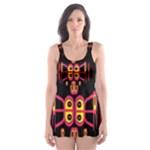 Alphabet Shirt R N R Skater Dress Swimsuit