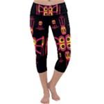 Alphabet Shirt R N R Capri Yoga Leggings