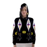 FLOWER OF LIFE TWO Hooded Wind Breaker (Women)