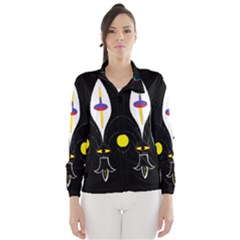 FLOWER OF LIFE TWO Wind Breaker (Women)