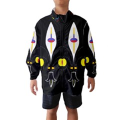 FLOWER OF LIFE TWO Wind Breaker (Kids)