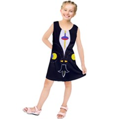 FLOWER OF LIFE TWO Kids  Tunic Dress