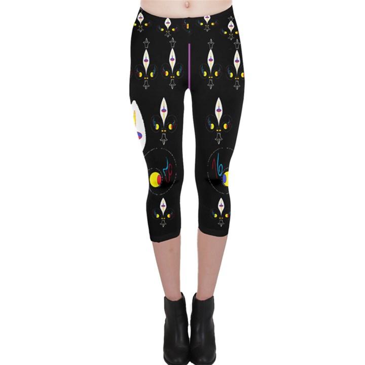 Clothing (25)gee8dvdynk,k;; Capri Leggings