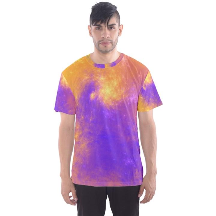 Colorful Universe Men s Sport Mesh Tee