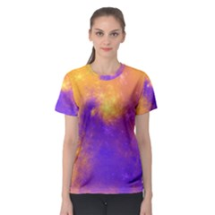 Colorful Universe Women s Sport Mesh Tee by designworld65