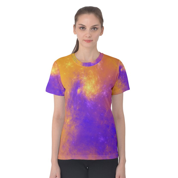 Colorful Universe Women s Cotton Tee