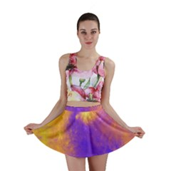 Colorful Universe Mini Skirt