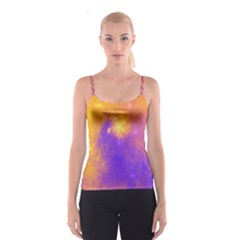 Colorful Universe Spaghetti Strap Top by designworld65