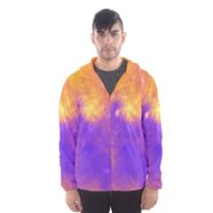 Colorful Universe Hooded Wind Breaker (men)