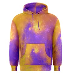 Colorful Universe Men s Pullover Hoodie by designworld65