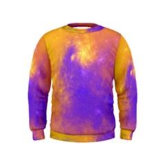 Colorful Universe Kids  Sweatshirt