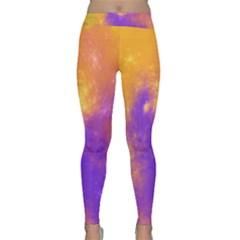 Colorful Universe Yoga Leggings