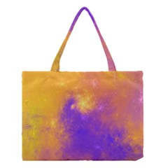 Colorful Universe Medium Tote Bag by designworld65