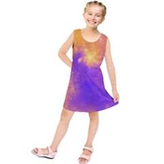 Colorful Universe Kids  Tunic Dress