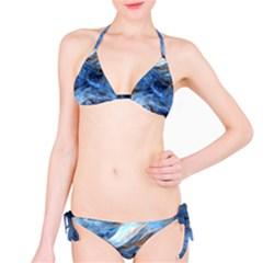 Blue Colorful Abstract Design  Bikini Set by designworld65