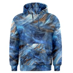 Blue Colorful Abstract Design  Men s Pullover Hoodie by designworld65