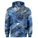 Blue Colorful Abstract Design  Men s Pullover Hoodie View1