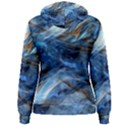 Blue Colorful Abstract Design  Women s Pullover Hoodie View2