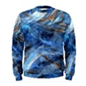 Blue Colorful Abstract Design  Men s Sweatshirt View1