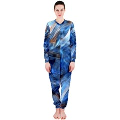 Blue Colorful Abstract Design  Onepiece Jumpsuit (ladies)  by designworld65