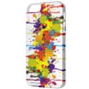Crazy Multicolored Double Running Splashes Apple iPhone 5 Classic Hardshell Case View3