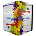 Crazy Multicolored Double Running Splashes Apple iPad 2 Flip Case View4