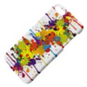 Crazy Multicolored Double Running Splashes Apple iPhone 5 Hardshell Case with Stand View4