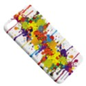 Crazy Multicolored Double Running Splashes Apple iPhone 5 Hardshell Case with Stand View5