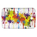 Crazy Multicolored Double Running Splashes Samsung Galaxy Tab 3 (7 ) P3200 Hardshell Case  View1