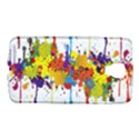 Crazy Multicolored Double Running Splashes Galaxy S4 Active View1