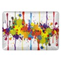 Crazy Multicolored Double Running Splashes Amazon Kindle Fire HD (2013) Hardshell Case View1
