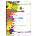 Crazy Multicolored Double Running Splashes iPad Mini 2 Flip Cases View1