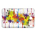Crazy Multicolored Double Running Splashes Samsung Galaxy Tab 4 (7 ) Hardshell Case  View1