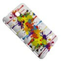 Crazy Multicolored Double Running Splashes Samsung Galaxy Tab 4 (7 ) Hardshell Case  View5