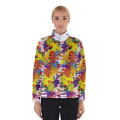 Crazy Multicolored Double Running Splashes Winterwear by EDDArt