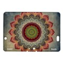 Folk Art Lotus Mandala Dirty Blue Red Kindle Fire HDX 8.9  Hardshell Case View1