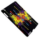 Crazy Multicolored Double Running Splashes Horizon Apple iPad 3/4 Hardshell Case (Compatible with Smart Cover) View5
