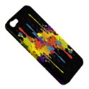 Crazy Multicolored Double Running Splashes Horizon Apple iPhone 5 Hardshell Case View5